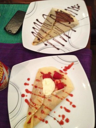 Crepe-ology: dessert