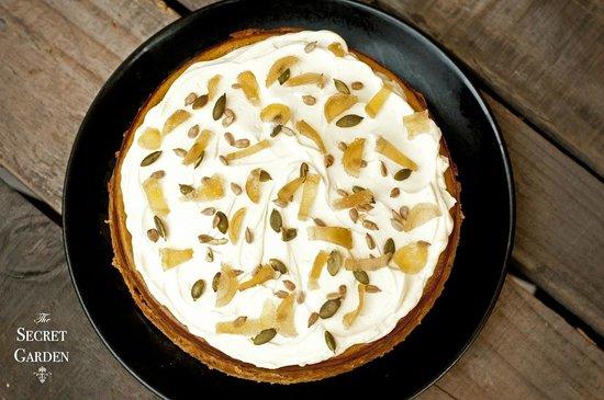 The Secret Garden: Spiced Pumpkin Cheesecake