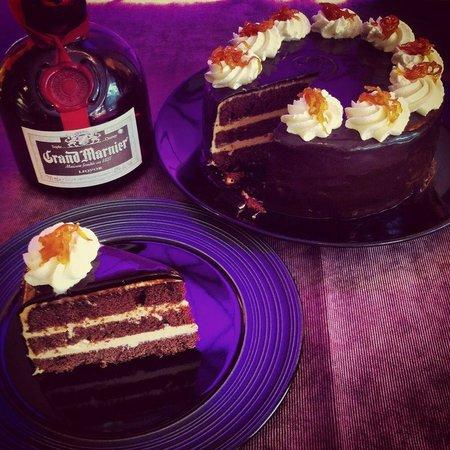 The Secret Garden: Grand Marnier Chocolate & Orange Cake
