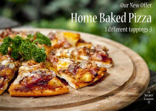 The Secret Garden: Homemade Pizza
