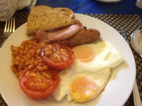 Cornerways Guest House: Full english breakfast at Cornerways