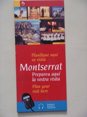 Barcelona Turisme - Afternoon in Montserrat Tour : brochure..