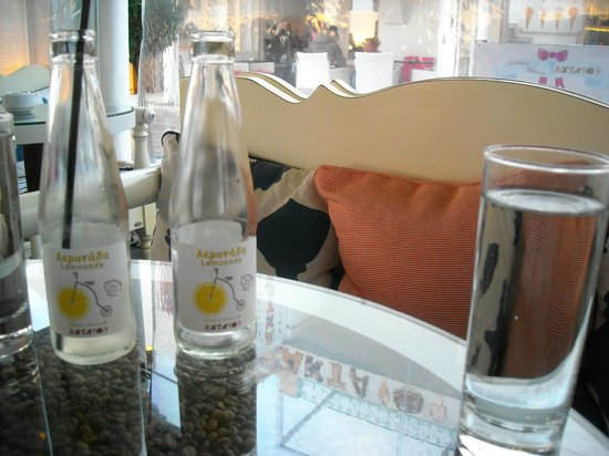 Aktaion: Scenic view with empty bottles of lemonade !!!
