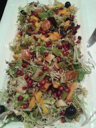 Restaurante San Fermin : Espectacular ensalada