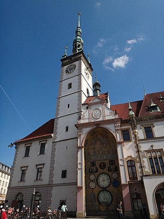Olomouc Town Hall with horologe