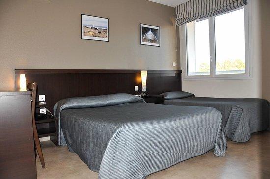 Chambre 3 personnes picture of le fin bistrot hotel restaurant bar lit - Chambre d hote lit et mixe ...