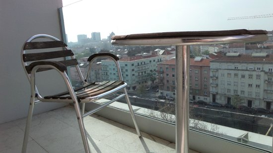 Lutecia Smart Design Hotel : Balkon