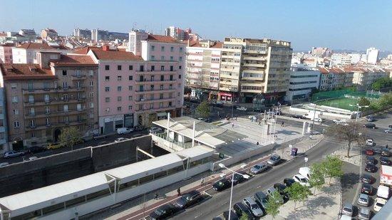 Lutecia Smart Design Hotel : Blick vom Balkon