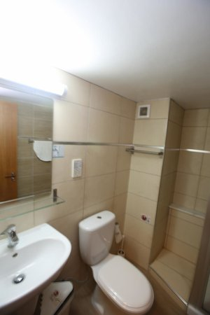 Lucky Hotel Apartments : Bathroom- Toilet- Shower