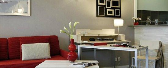 Adagio City Aparthotel Montrouge : La chambre