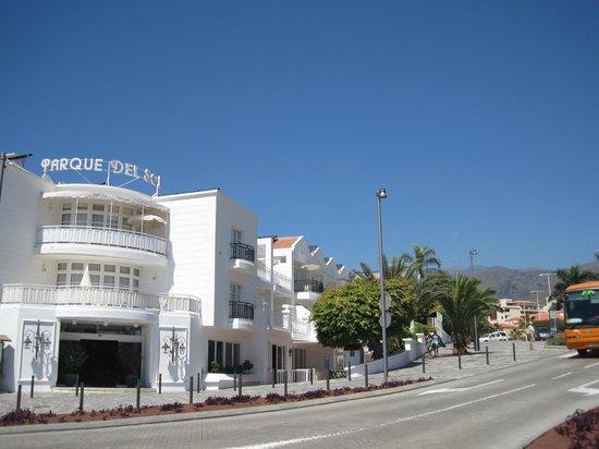 Parque del Sol : Hotel von außen