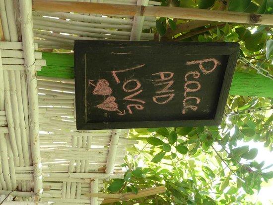 La Cuisine de Mona: Love and peace, calma e gesso!!!