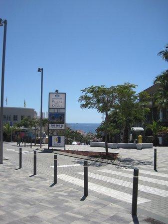 Parque del Sol: Blick aus dem Hoteleingang