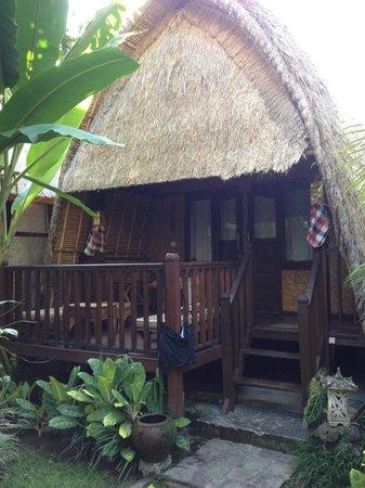 Alam Nusa Huts and Spa: Chambre