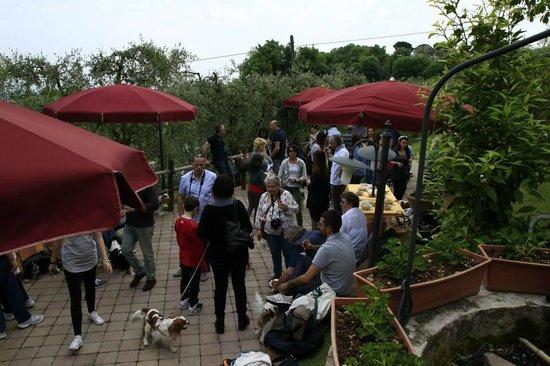 Osteria del Vecchio Olivo: pranzo raduno 26 aprile