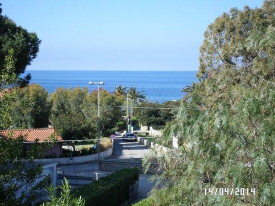 Residence Augusto : Vista dal balcone