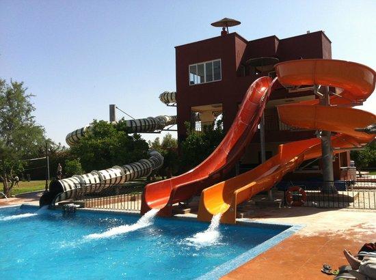 Eden Andalou Hotel Aquapark & Spa: toboggans