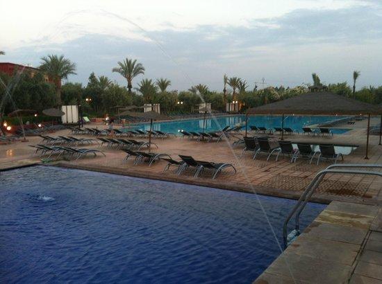Eden Andalou Hotel Aquapark & Spa: Les piscines