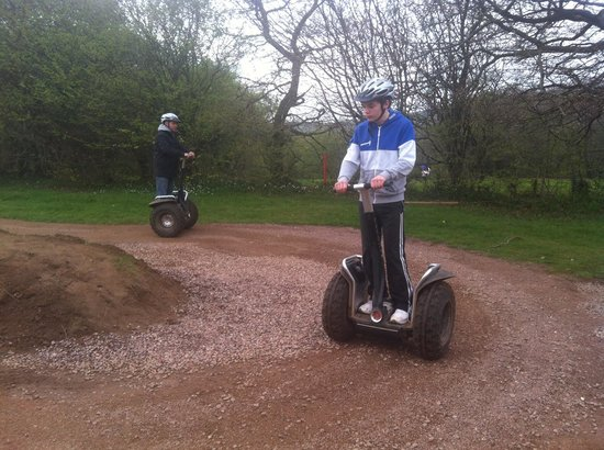 Mountain View Ranch: Segways practice track