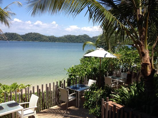 Gaya Island Resort : View From the restaurant