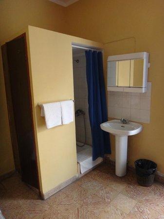 Casa Maria : chambre : le coin douche