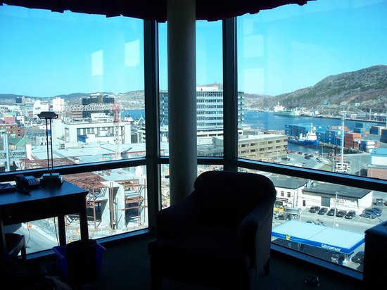 Delta St. John's Hotel and Conference Centre: Beautiful view from the room