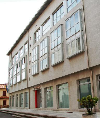 Hotel la Estación de Luanco: Exterior