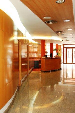 Hotel la Estación de Luanco: Recepción