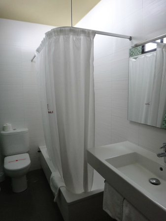 Aparthotel Udalla Park: salle de bain