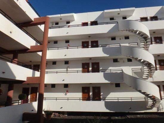 Aparthotel Udalla Park: coursives sur cour intérieure