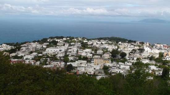 Mount Solaro: Veduta di Anacapri