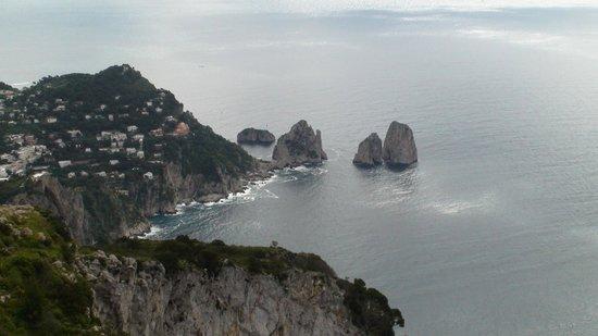 Mount Solaro: I Faraglioni