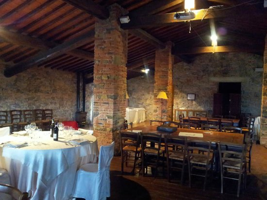 Montelucci Country Resort & Agriturismo di Charme: Interno del ristorante