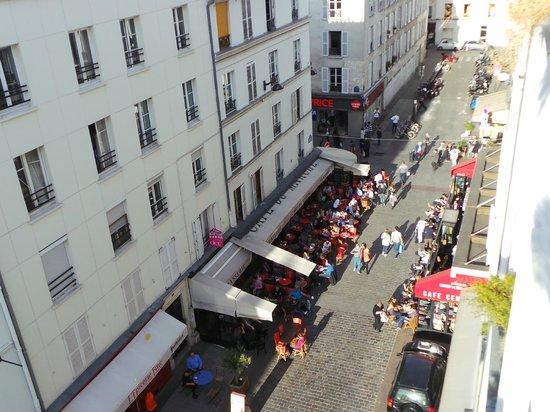 Hotel du Champ de Mars: Vista da janela