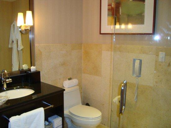 Z Ocean Hotel South Beach : Banheiro impecável