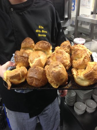 The Old Ginn House Restaurant & Bar: Our Yorkshire Puds