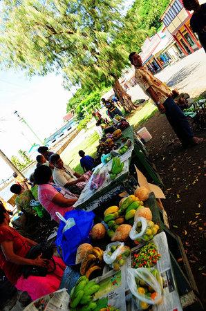 Leleuvia Island Resort : Street Market, Levuka Town