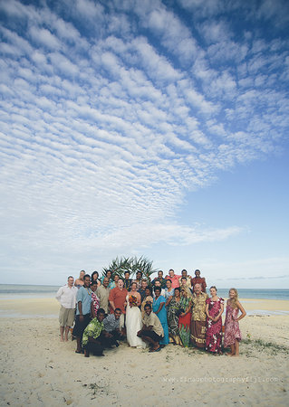 Leleuvia Island Resort: Chrissy and Jay's Beach Wedding