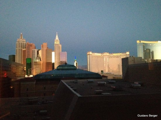 MGM Grand Hotel and Casino : Room view