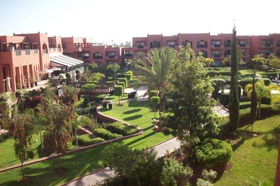 SENTIDO Kenzi Menara Palace : vue jardin