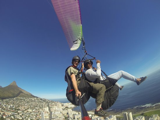 Cape Town Tandem Paragliding: On my 30th birthday!