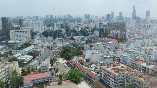 Hotel Nikko Saigon: View from Hotel room
