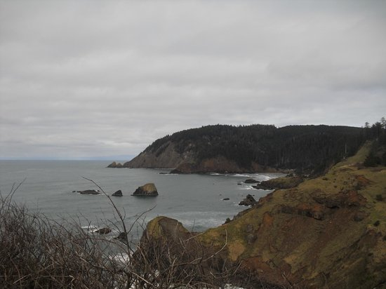 Ecola State Park: North view