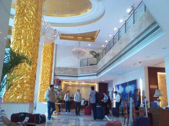 Grand Park Jiayou Hotel : RECEPTION