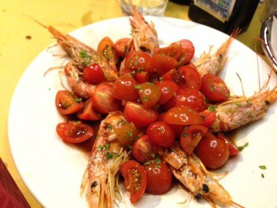 Bellavista Cafe: frutos do mar