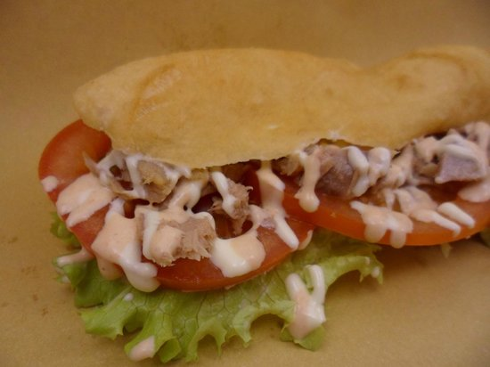 Gallo Food Factory: sgabeo flash con salsa GFF