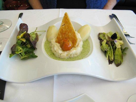 Histoire ancienne: Piatto del giorno- pesce e verdure
