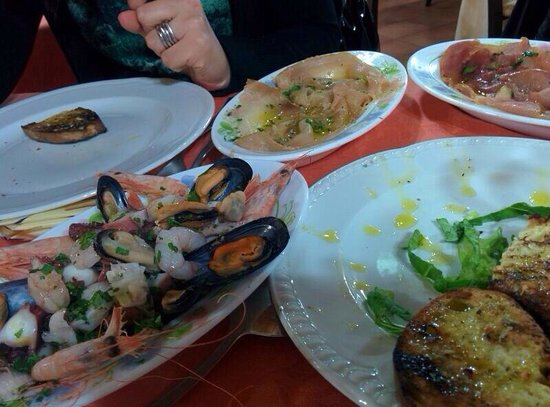 antico ristorante marinaro : Antipasti