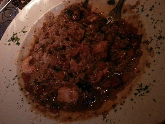The Cheesecake Factory: Shrimp and Chicken Gumbo