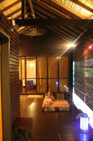 Zeavola Resort : nuestra cabañita